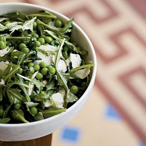 Fresh English Pea Salad with Mint and Pecorino