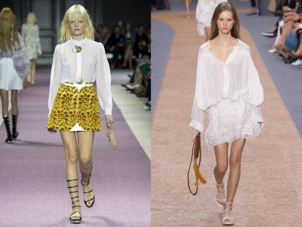белый мода 2016