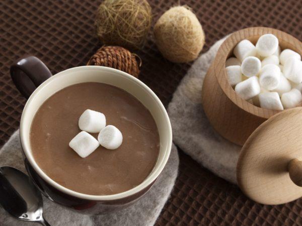 бодрящая чашка какао