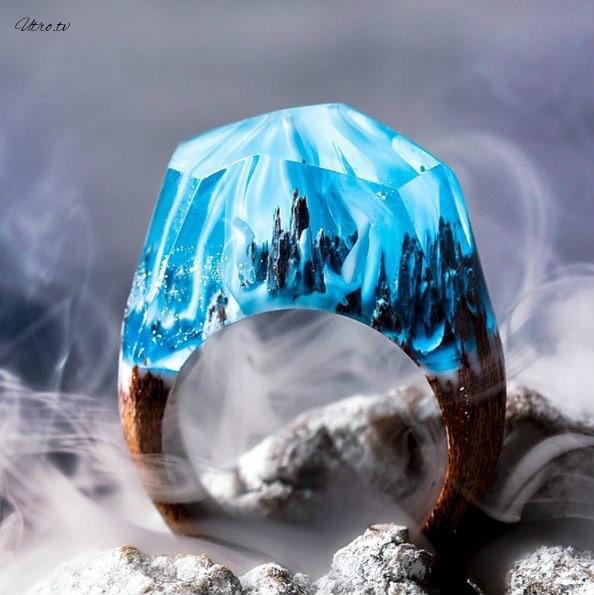 Внутри этих колец таятся сказочные миры. 15 фото