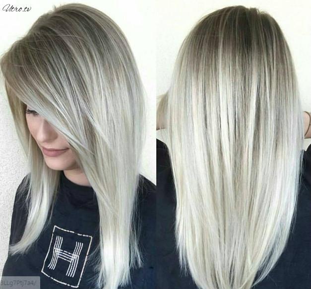 Стрижка на длинные тонкие волосы для объема