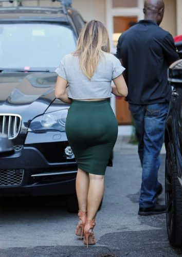 Kim Kardashian visits a cosmetic treatment center in Beverly Hills