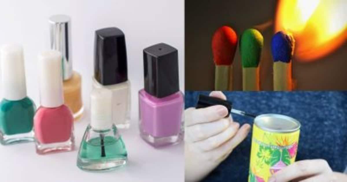 Не только для красоты: 5 лайфхаков с лаком для ногтей на каждый день