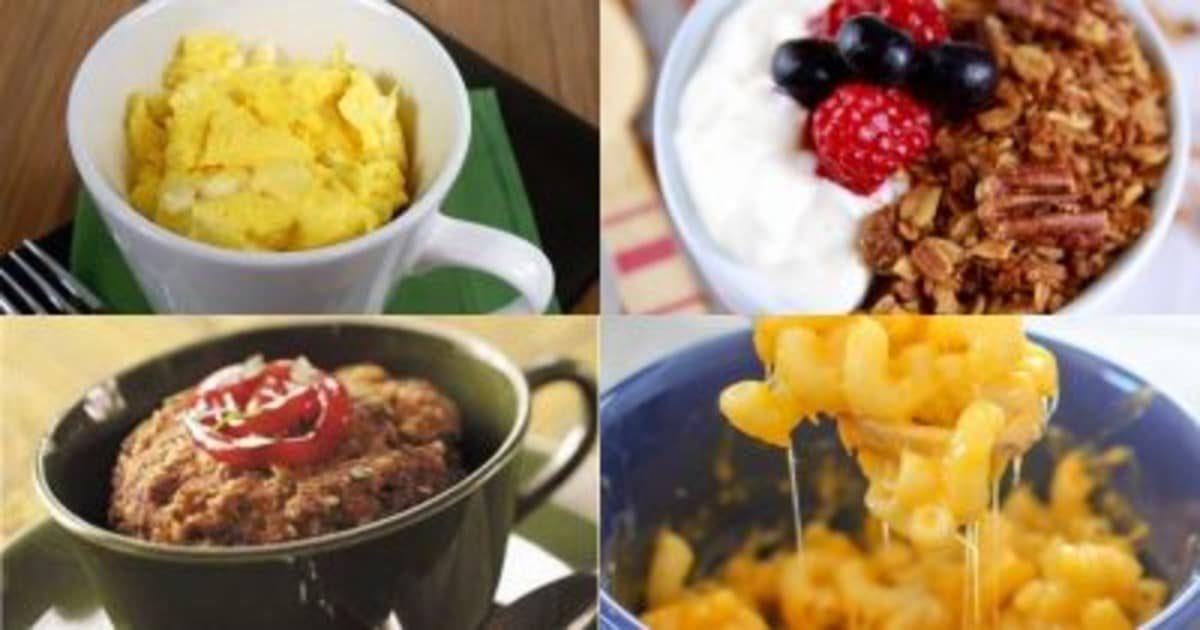 4 быстрых блюда в кофейной чашке и советы для быстрой готовки