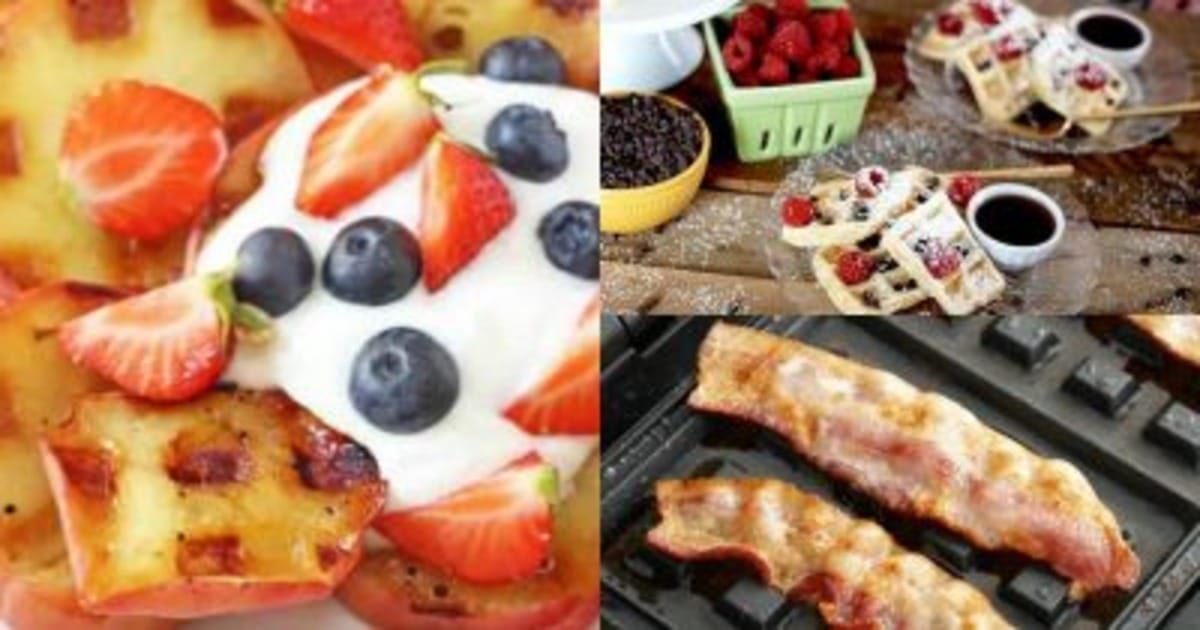 5 неожиданных блюд, которые можно приготовить в электровафельнице