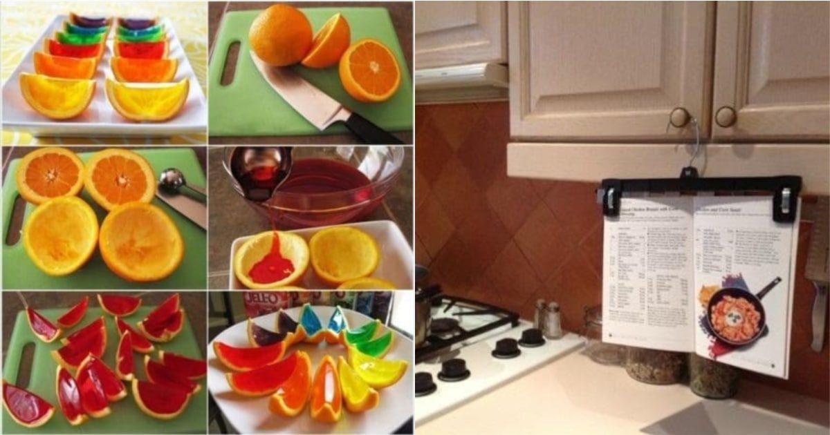 Лайфхаки для кухни: 15 идей, которые оценит любая хозяйка
