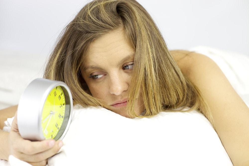 девушка перед сном