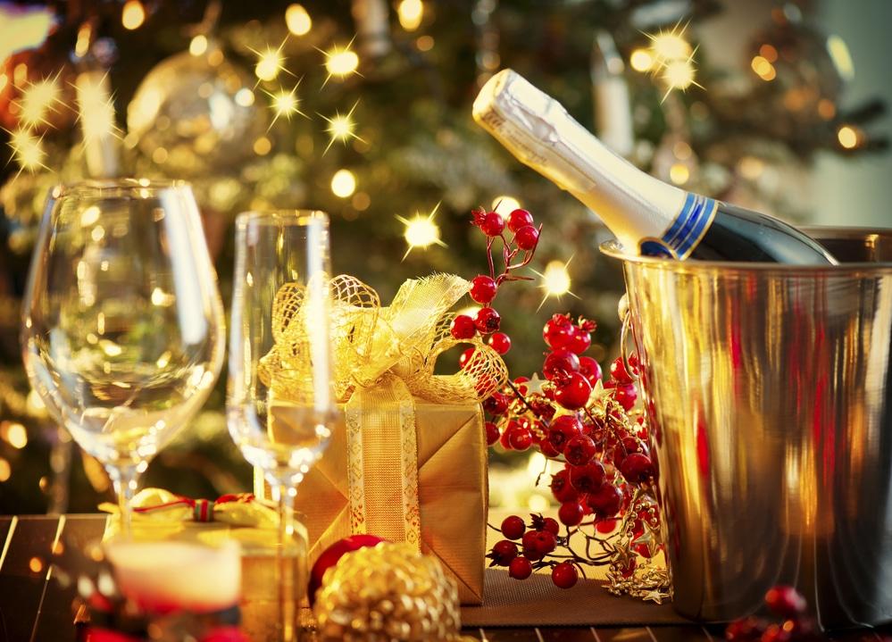 шампанское в новый год