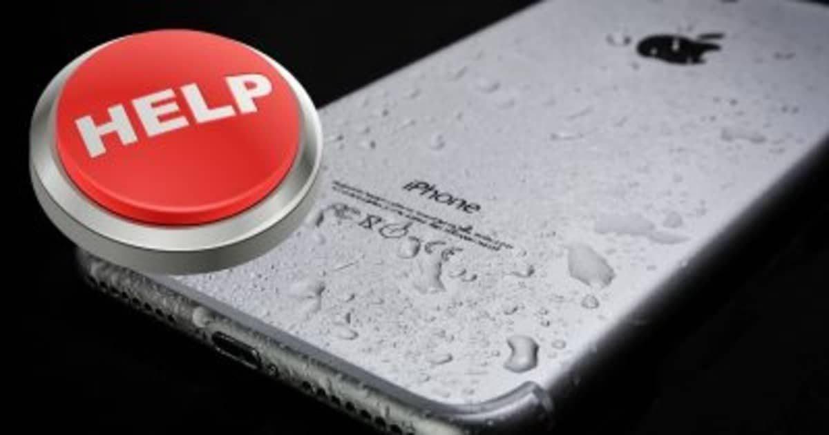 Что делать, если ваш телефон намок