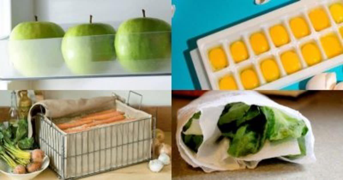 Всегда свежее: лайфхаки, позволяющие дольше сохранять ваши продукты