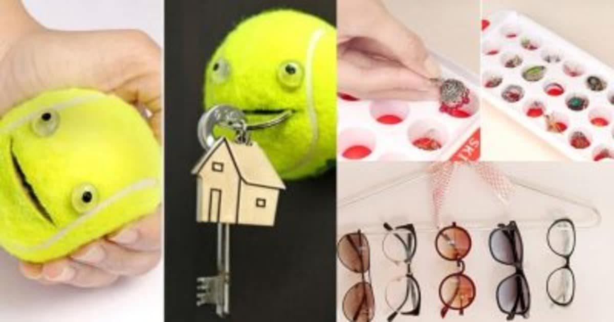 Интересные лайфхаки для организации домашних вещей