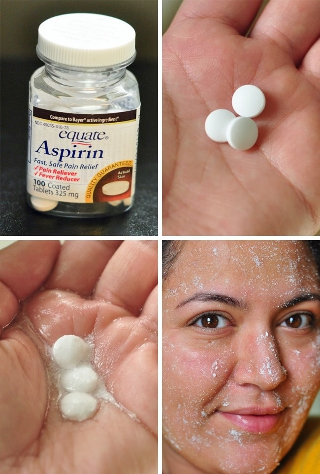 маска с аспирином