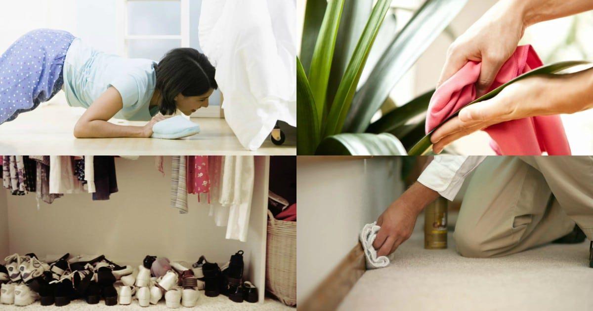 6 мест в доме, которые вы забываете убирать