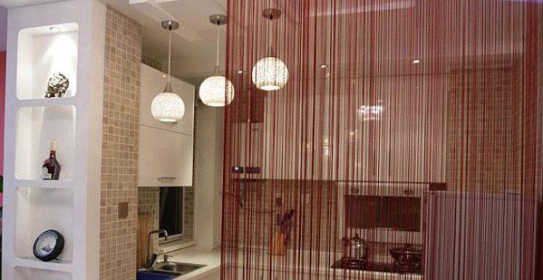 Нитяные шторы в интерьере: в чем их преимущество