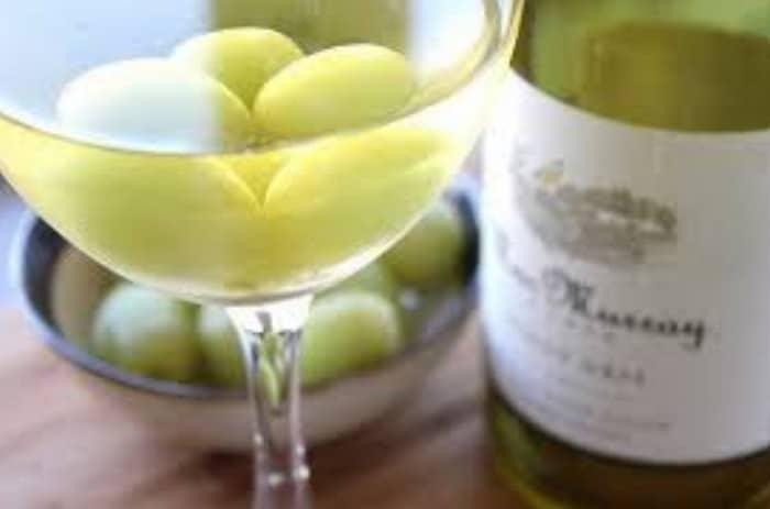 виноградины в вине