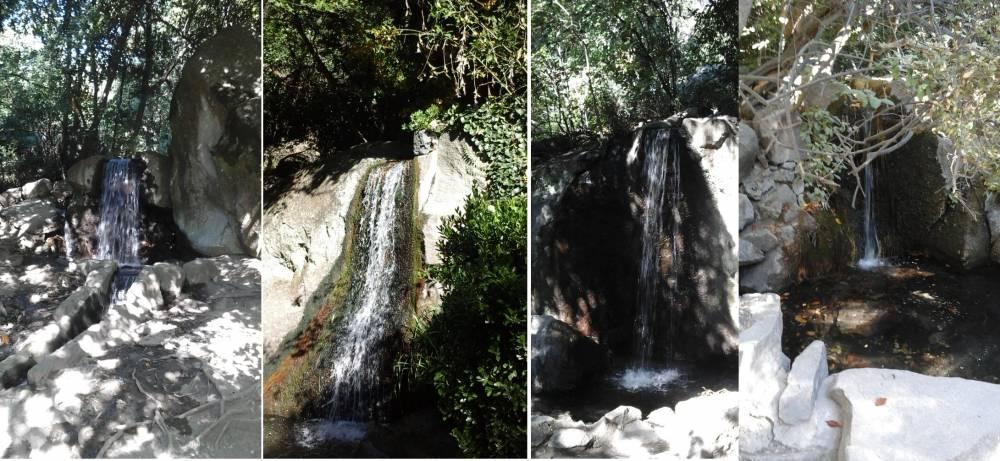 система искусственных водопадов vorontsovskogo dvortsa v alupke
