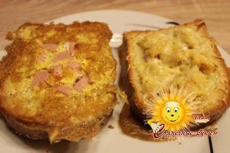 Рецепты бутербродов Горячие бутерброды Бутерброды на скорую