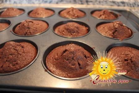 Маффины рецепт, маффины шоколадные, маффины с шоколадом, мафины шоколадные рецепт.