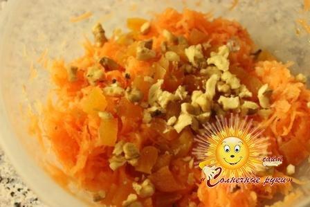 Салат из моркови Салат из свежей моркови Салат с яблоками
