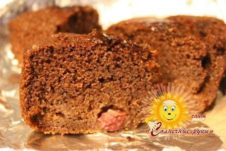 Шоколадный манник Манник рецепт Манник на сметане Манник на кефире