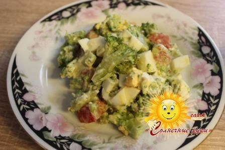 Рецепты брокколи Блюда из брокколи Салат из брокколи