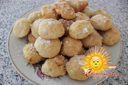 Печенье творожное, печенье из творога, творожное печенье рецепт