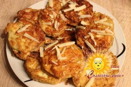 Закуска из баклажанов Баклажаны в кляре