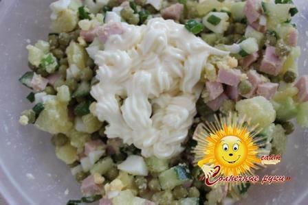 Салат зимний Салат зимний рецепт