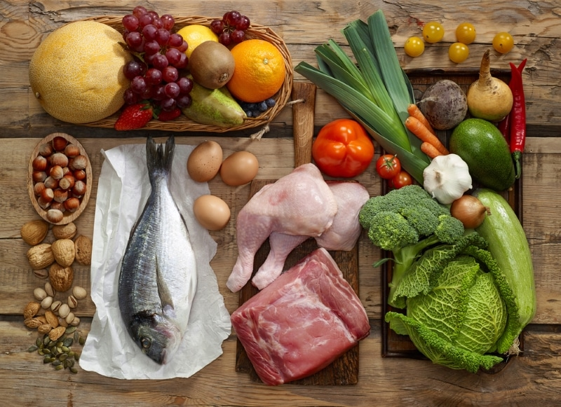 сочетание продуктов питания