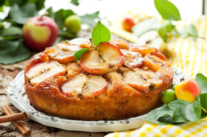 Как приготовить яблочный пирог с маком