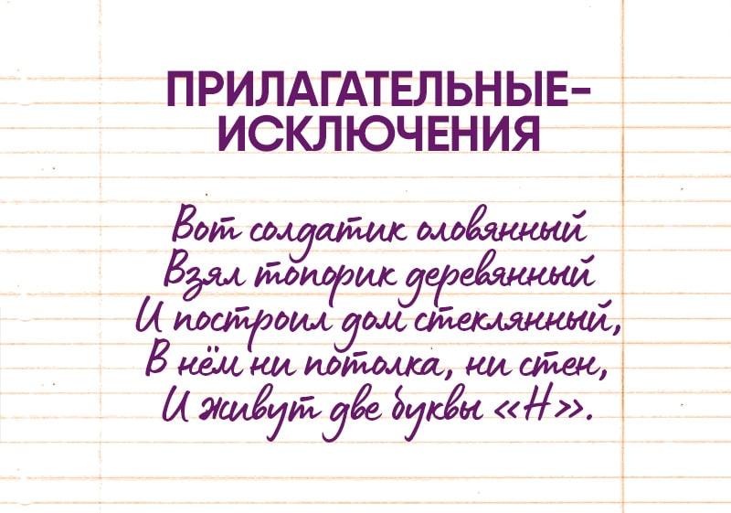 правила русского языка лексика