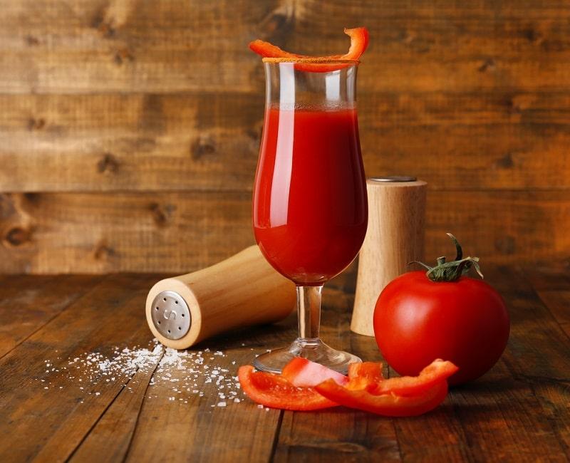 томатный сок без соли