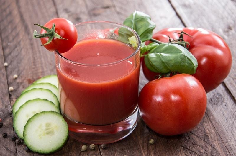 томатный сок с сельдереем