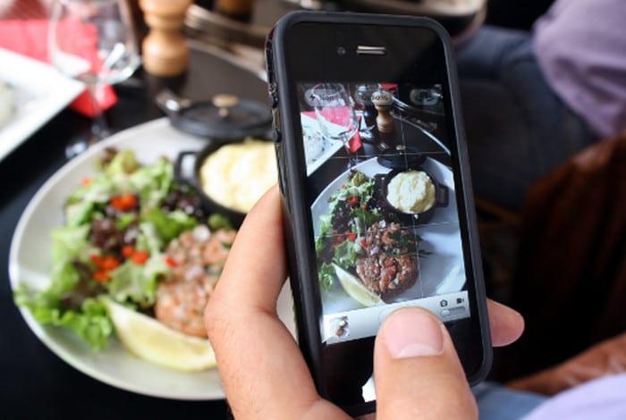 фото еды в инстаграм