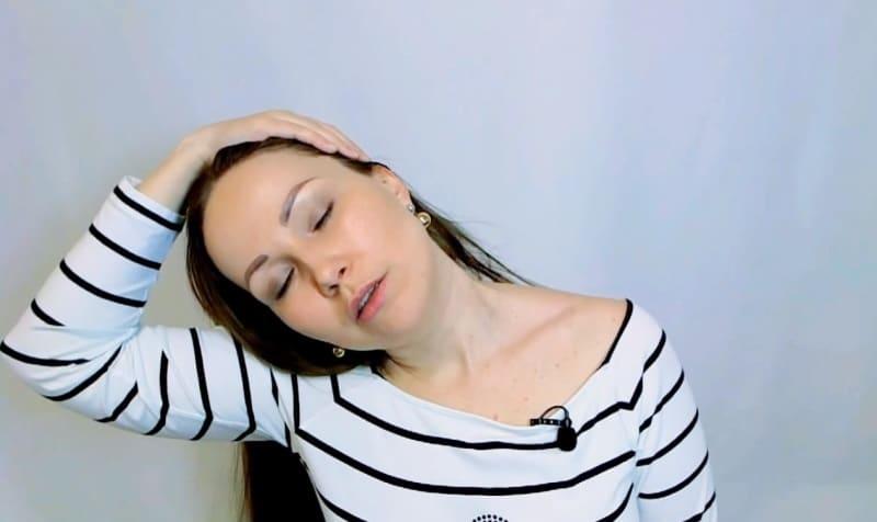 напряжение в мышцах шеи