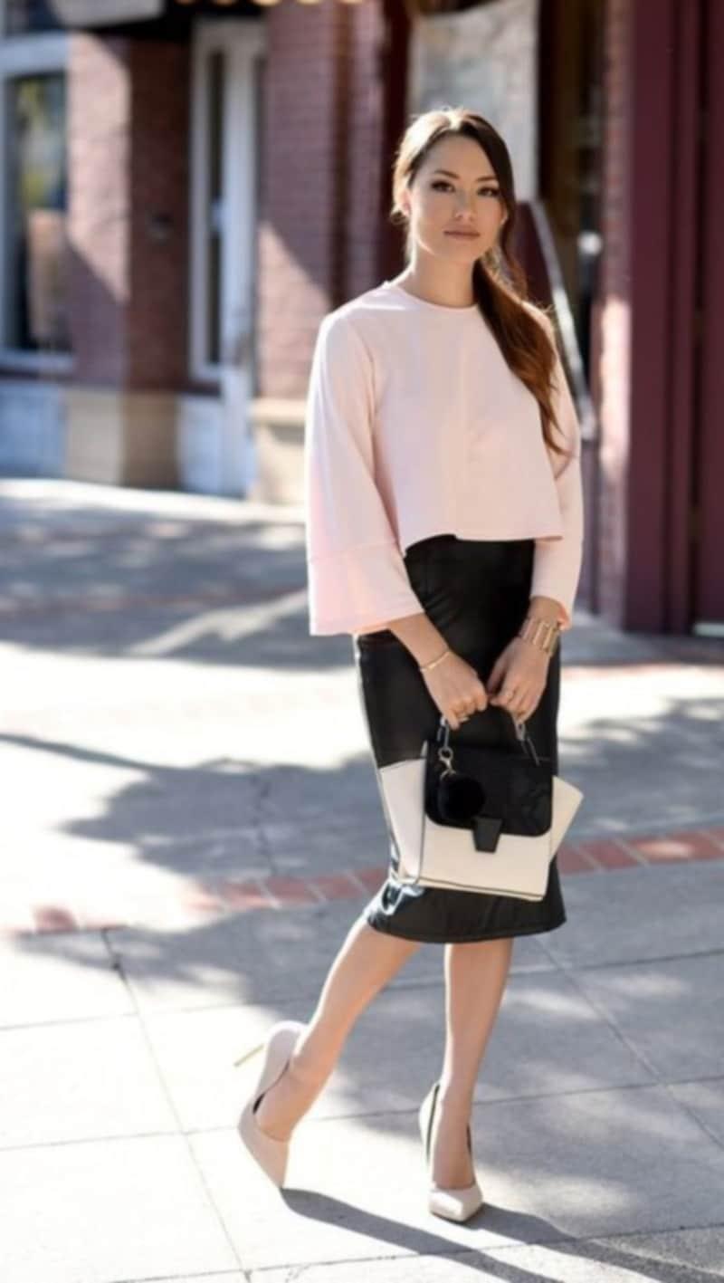 с чем носить одежду розового цвета