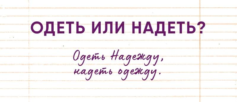 правила русского языка которые должен знать каждый