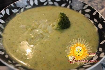 Суп-пюре рецепт Суп-пюре из брокколи Суп из брокколи