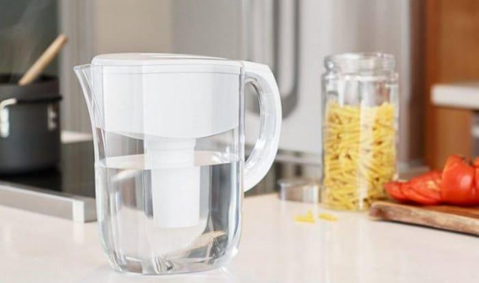 вода в кувшине-фильтре