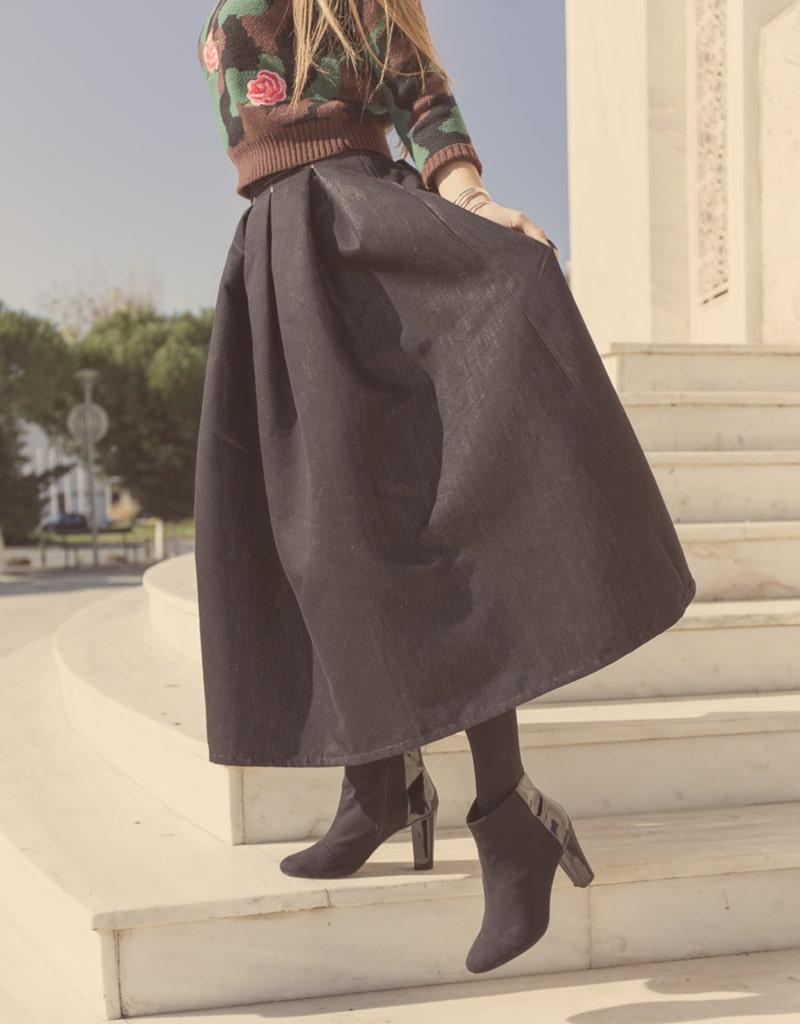 модные юбки для женщин за 45
