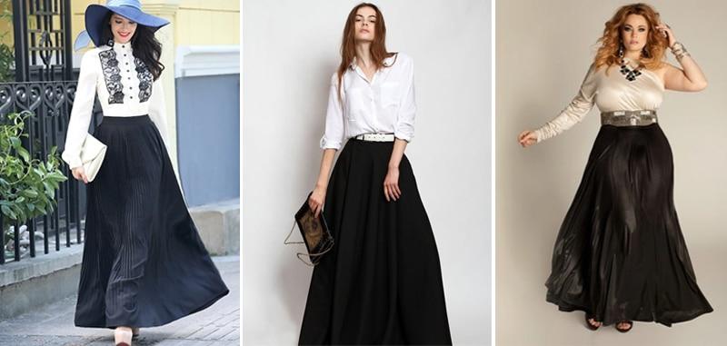 модные юбки для женщин за 40