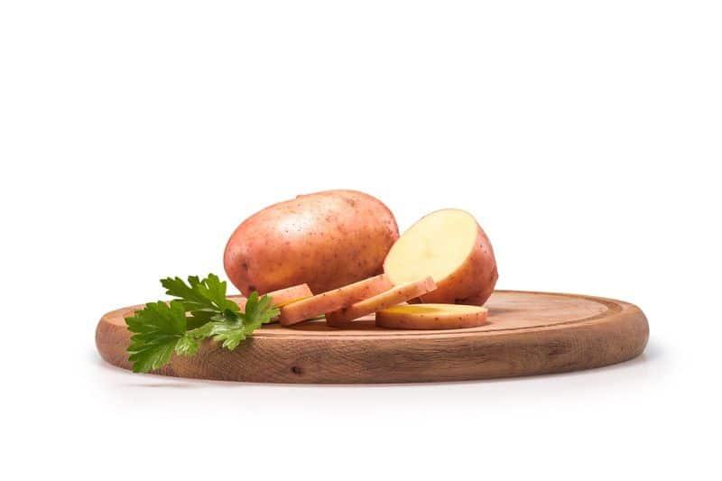 маска из картофеля