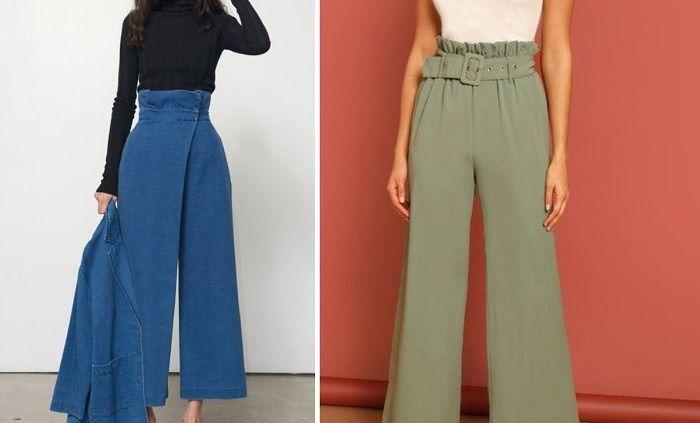 модные брюки на осень