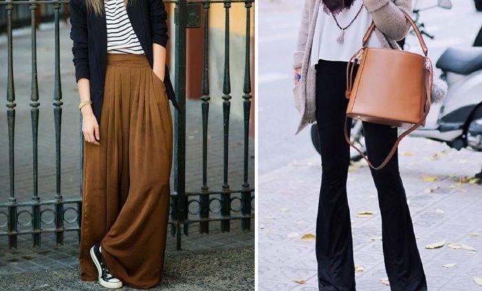 широкие брюки для женщин