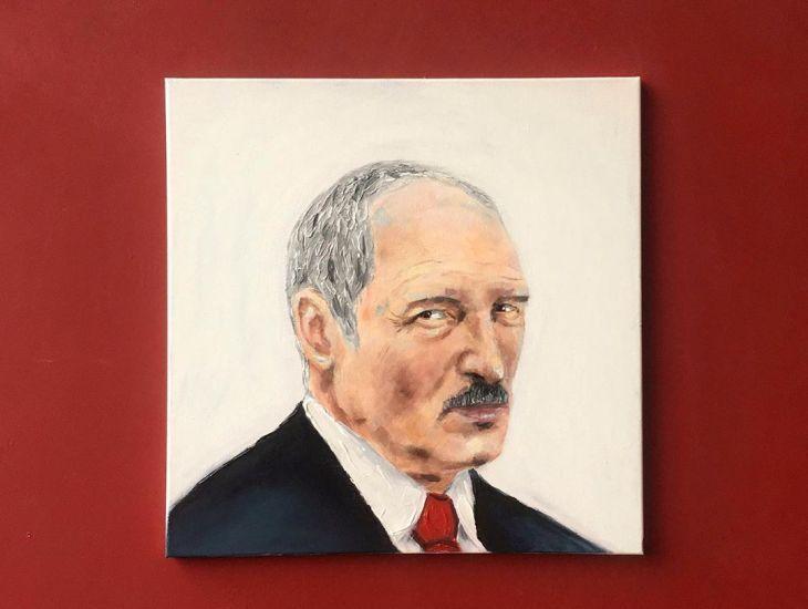 Минская студентка нарисовала портрет Лукашенко грудью. Вы должны на это взглянуть