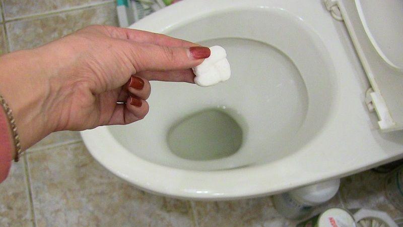 средство для чистки унитаза доместос