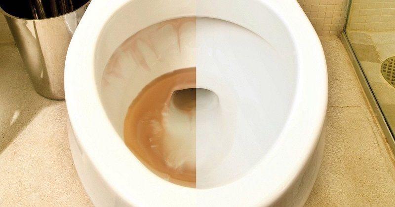 домашнее средство для чистки унитаза