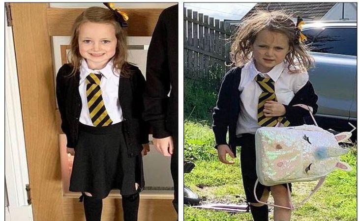 «До и после школы». Фото первоклассницы взорвало Сеть