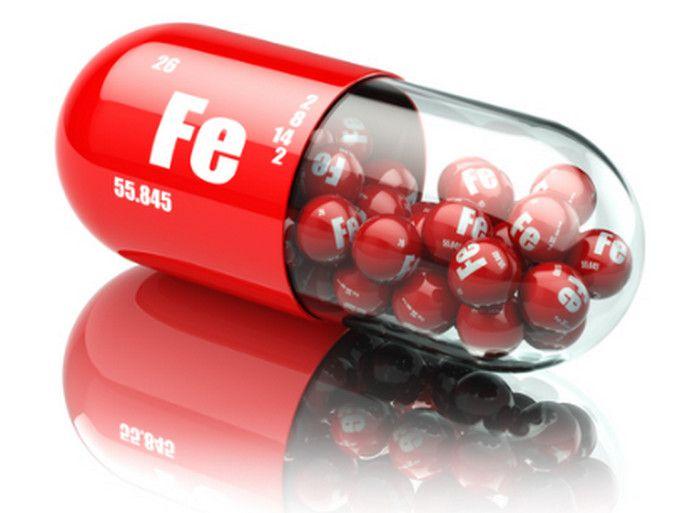 железо в таблетке
