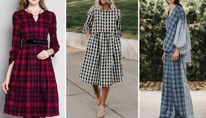 осенние платья для девушек